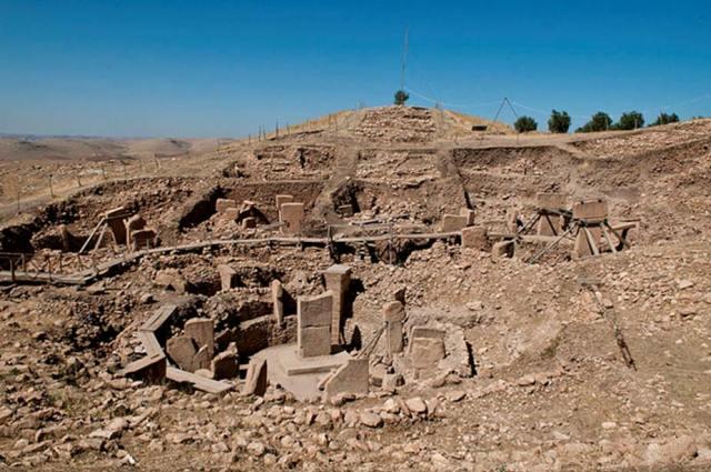 Yacimiento arqueológico de Göbekli Tepe, Turquía. (Teomancimit/CC BY SA 3.0)