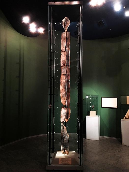 El ídolo ahora se conserva en el museo de historia regional de Sverdlovsk en Ekateriburgo. Imagen: Olga Gertcyk, Los tiempos de Siberia