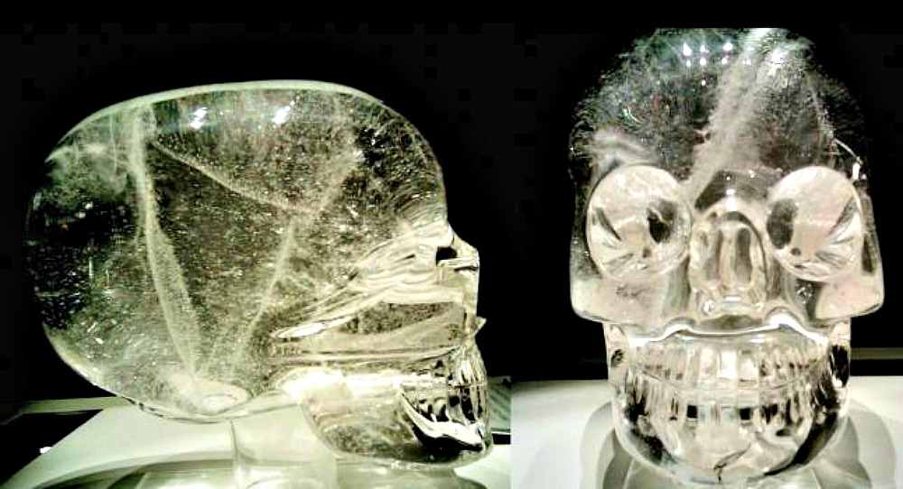 Resultado de imagen de calavera cristal