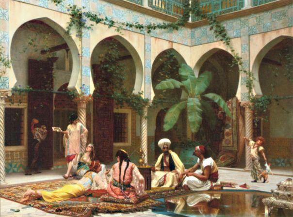 Portada - 'El harén', óleo de Gustave Boulanger