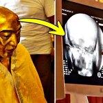 El misterio de la momia budista de hace 1.000 años que conserva intactos sus huesos y cerebro