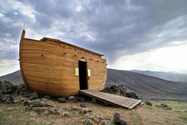 La tableta Flood de Epic of Gilgamesh tiene el Arca de Noé construida en base a trucos de noticias falsas. Fuente: www.photostock.am/ Adobe Stock