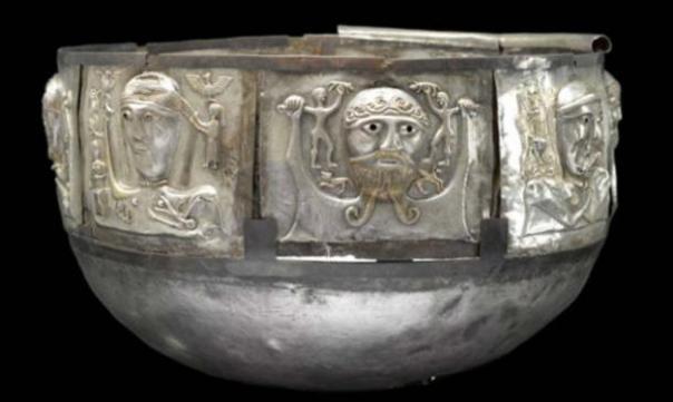 El caldero de Gundestrup. (Museo Británico)