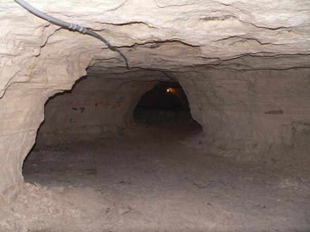 Las cuevas de Chislehurst se han utilizado para la minería de tiza y pedernal. (Ammodramus / Dominio Público)