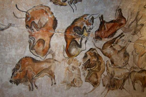Las primeras pinturas de la Cueva de Altamira se aplicaron durante la Edad de Piedra - Paleolítico superior. (Magnus Manske / CC BY-SA 2.0)