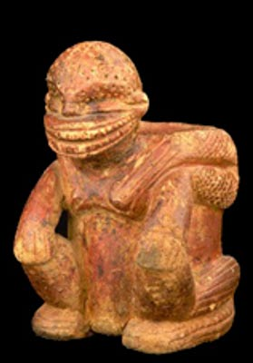 Calima culture sculpture, Gold Museum, Bogotá, Colombia