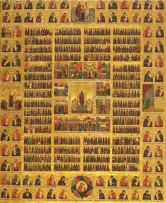 Calendario ortodosso orientale dei Santi.