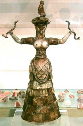 The Minoan Snake Goddess