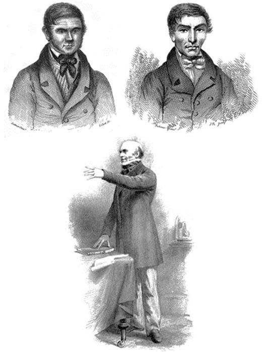 Portraits de William Burke