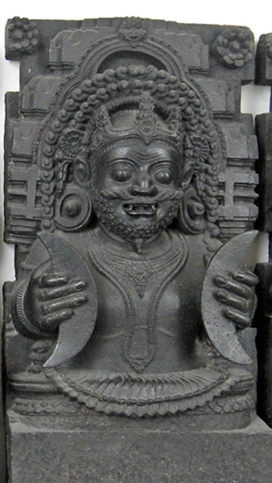 Rahu: Head of Demon Snake, Konarak Idol, British Museum.