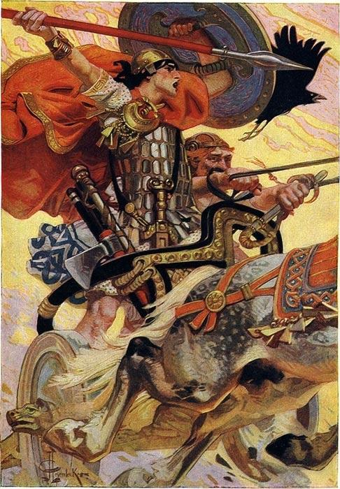 Táin Bó Cúailnge, comunemente noto come il bestiame incursione di Cooley o The Táin, è un leggendario dai primi di letteratura irlandese.
