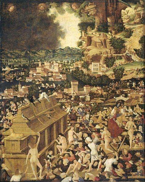 The Great Flood (circa 1450). ( Dominio pubblico )