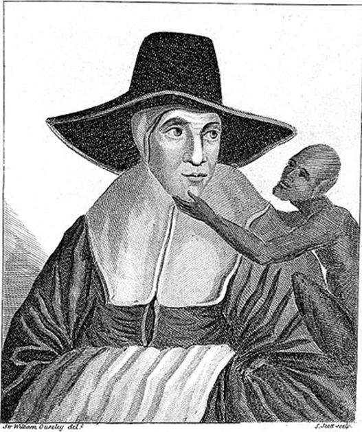 Una imagen dice que es un retrato de la Madre Shipton.