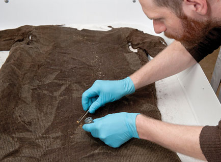 1,700-year-old tunic recovered from ice
