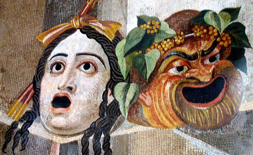Αποτέλεσμα εικόνας για laugh ancient theatre