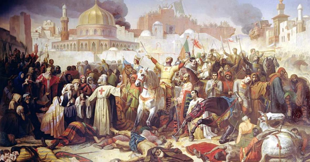 Image result for christians versus muslims in ancient times