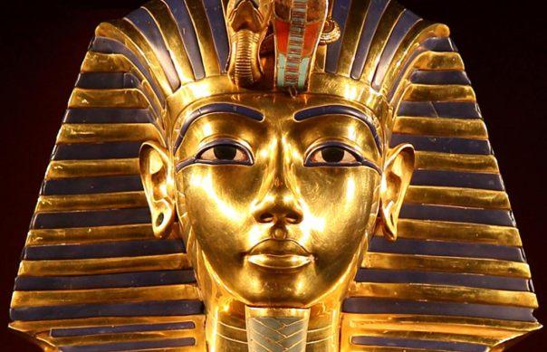 La Máscara de Oro icónica del faraón Tutankamón