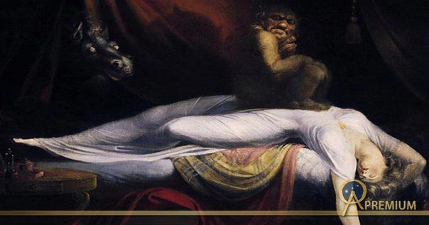 'La pesadilla' (1781) de Johann Heinrich Füssli.