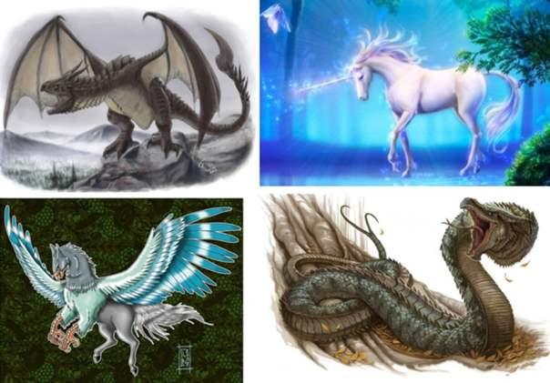 Las criaturas mágicas del mundo antiguo