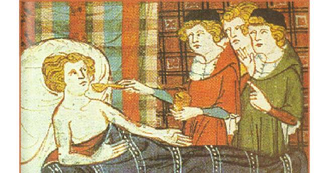 Image result for medieval manuscript doctors