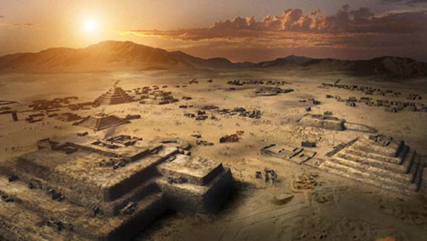 The 5,000-year-old Pyramid City of Caral Pyramid-City-of-Caral