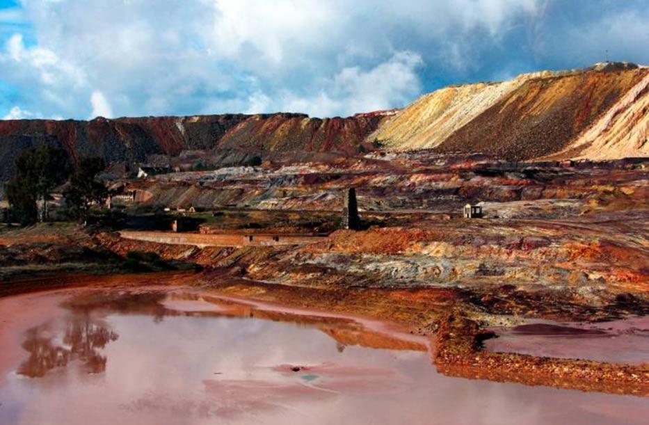 Ancient mine links search life mars, rio tinto espana
