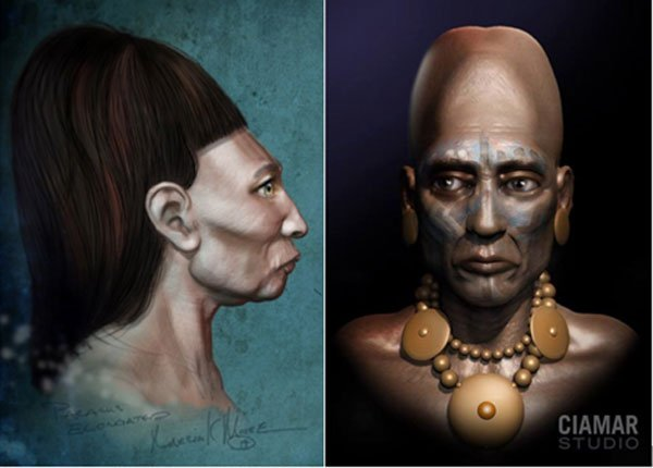 Artistic representations of the Paracas people