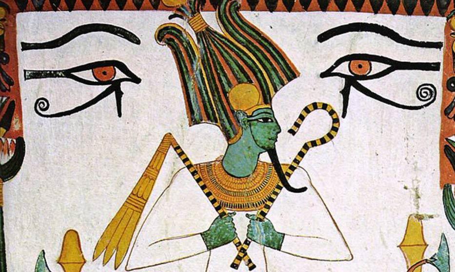 La tumba de Sennedjem - Sais, Osiris, Egipto