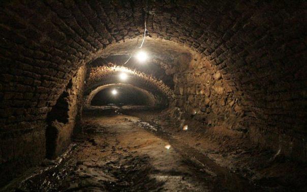 Túneles recién descubierto en Puebla.