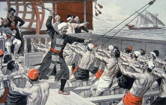 Galley Slaves of the Barbary Corsairs