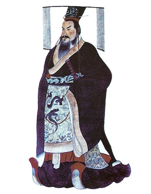 Qin Shi Huang, le premier empereur de Chine, qui avait une obsession de l'immortalité et est finalement décédé après avoir pris un «élixir de vie».  (Domaine public)