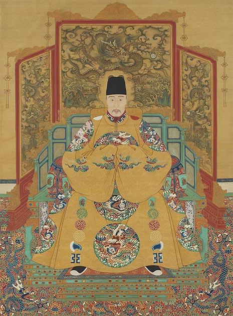 L'empereur Jiajing, 12e empereur de la dynastie Ming, qui a également cherché l'élixir d'immortalité.  (Domaine public)