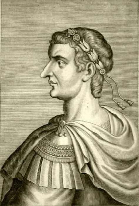 A 1667 representation of Emperor Theodosius. (Public Domain)