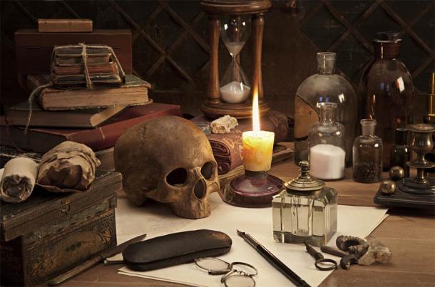 Alchimie nature morte (Alexey Kuznetsov / Adobe Stock)