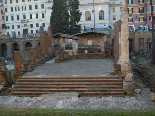 Área Sacra - Un templo