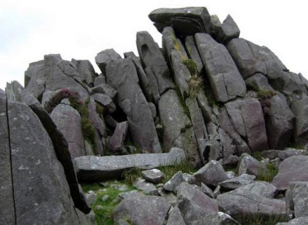 Bluestones en Carn Menyn en Gales