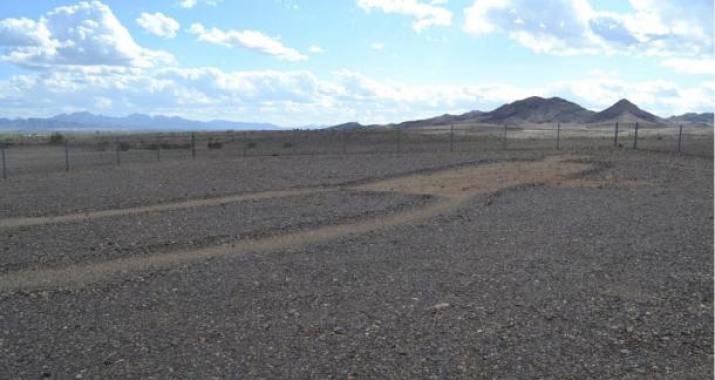 Le Blythe Intaglios si trovano nel paesaggio arido del deserto Colorado