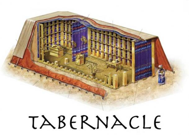 Drawing of the Tabernacle. (Author Provided)