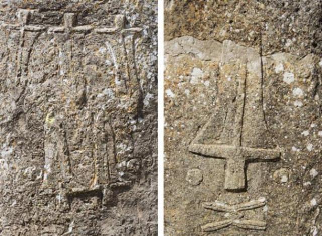 Engravings on the Tiya stones - Los megalitos de Etiopía (Tiya)