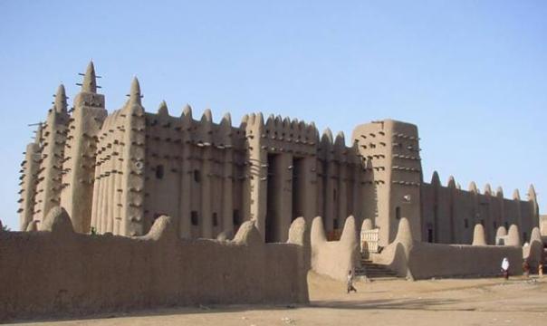 La Gran Mezquita de Djenné, Malí.