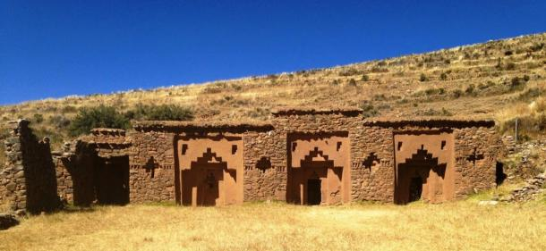 Casa de las Vírgenes Escogidas del Sol, Isla de la Luna, el lago Titicaca