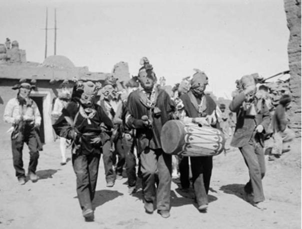 Kachina procesión