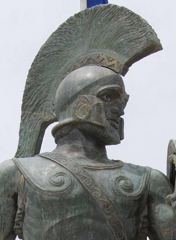 Leonidas I of Sparta.