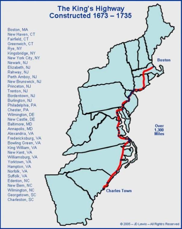 Mapa del Camino del Rey