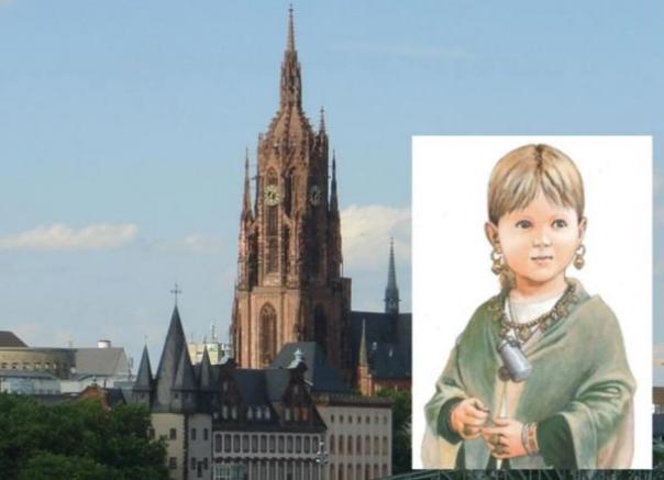 Doble entierro infantil medieval, uno Pagan, un cristiano, desconcierta a los investigadores alemanes