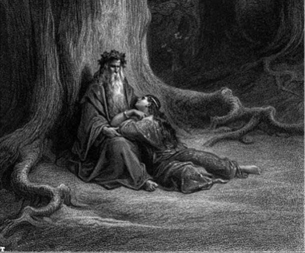 Merlin and Vivien