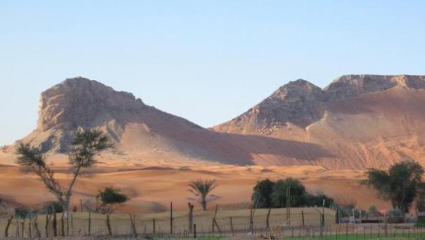 Mleiha, una vez que uno de los asentamientos más grandes de los Emiratos