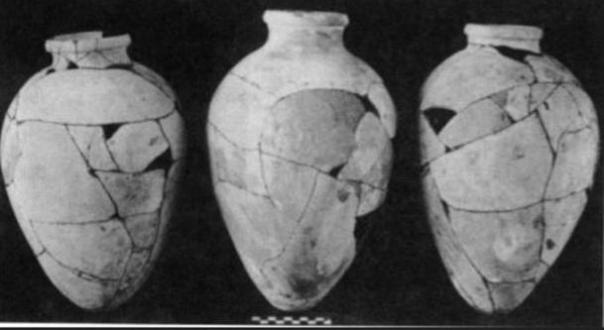 Antiguo Reino de cerámica de la tumba de Hetepheres