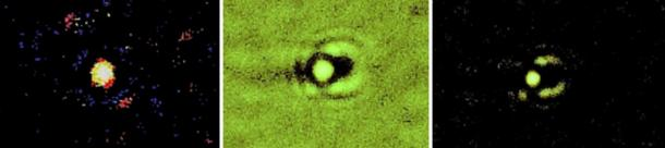 Fotografie di ITE-2s.  Catturato dal dottor Santilli nel cielo notturno sopra Tampa Bay, in Florida, il 5 settembre 2015.