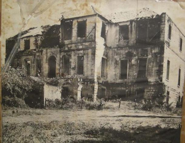 Rose Hall avant sa restauration dans les années 1960.